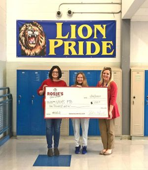 $1,000 Donation to New Kent Middle School's PTO
