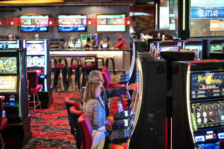 Guests Playing HHR Machines