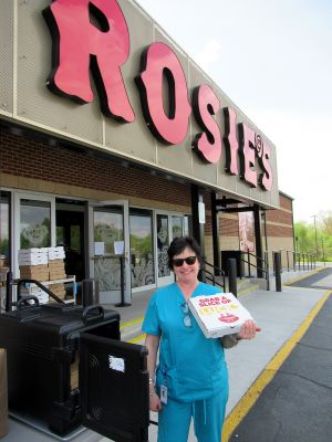 Rosie's 20,000 Free Meal Donation