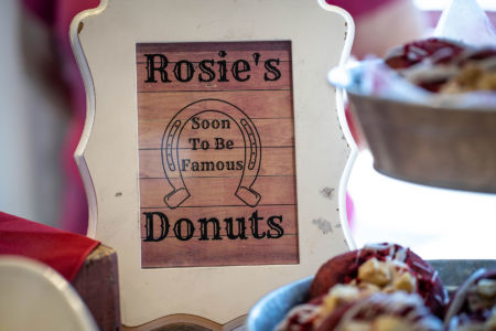 Rosie's Donuts Sign