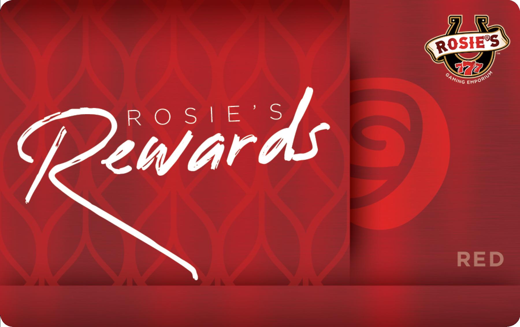 Rosies Red Reward Card