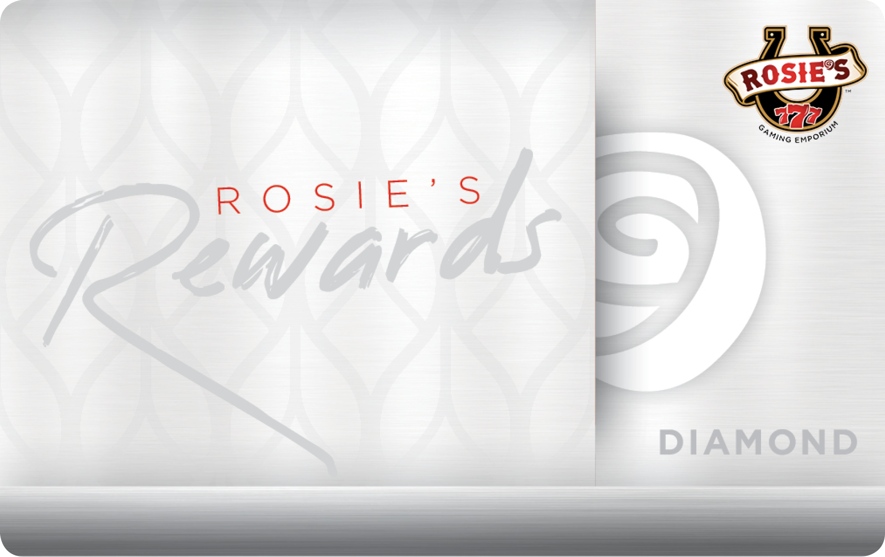 Rosies Diamond Rewards Card