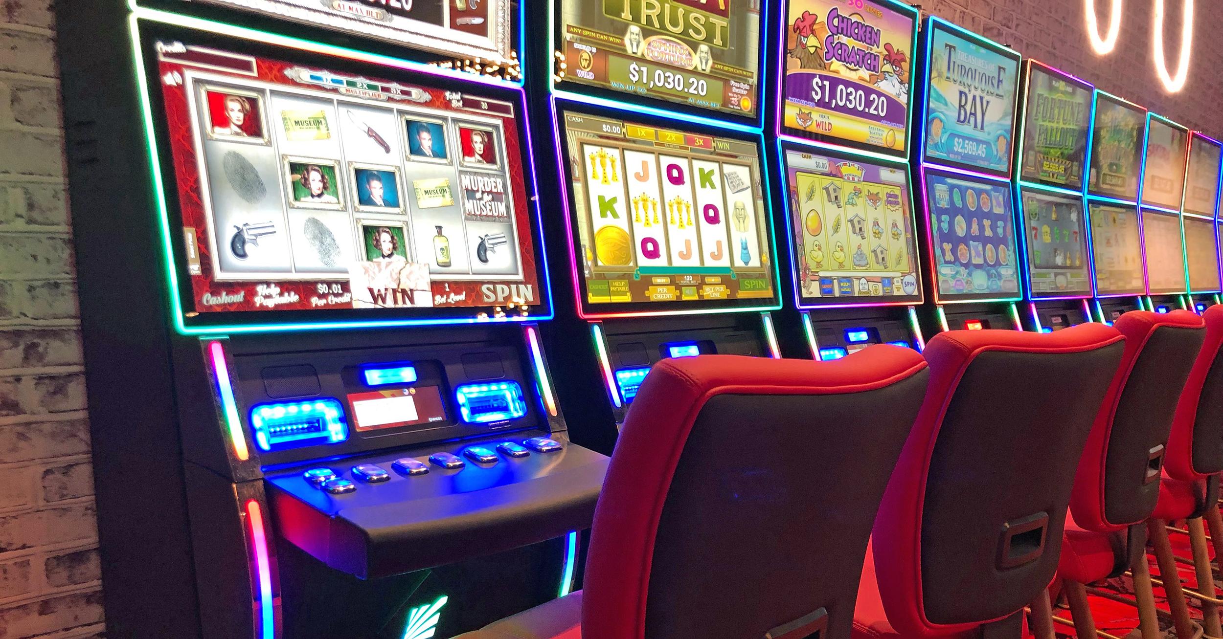 rosies in vinton gaming machines