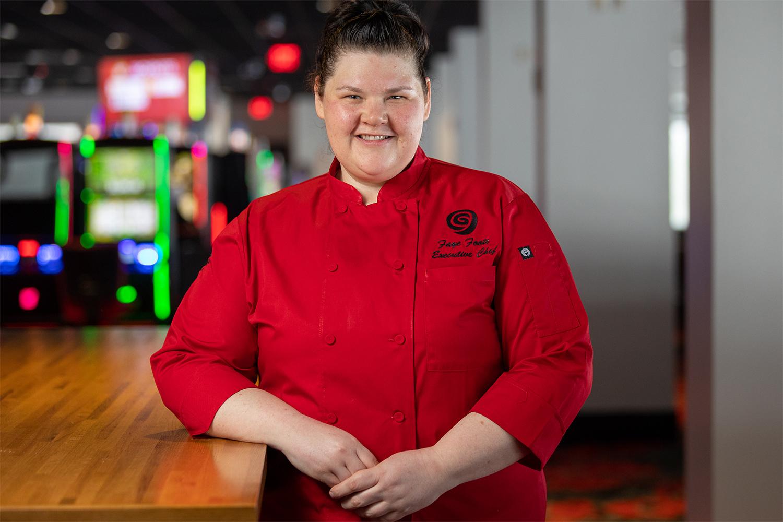 Chef Faye in Rosie's Kitchen