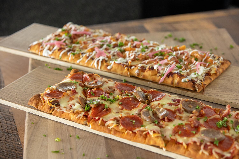 Flatbread Pizza in Rosie's Kitchen