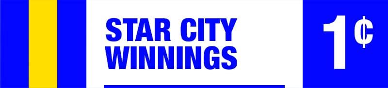 Star City Winnings - Penny Jackpot