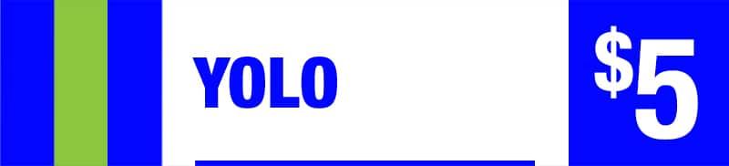 YOLO - Five Dollar Jackpot