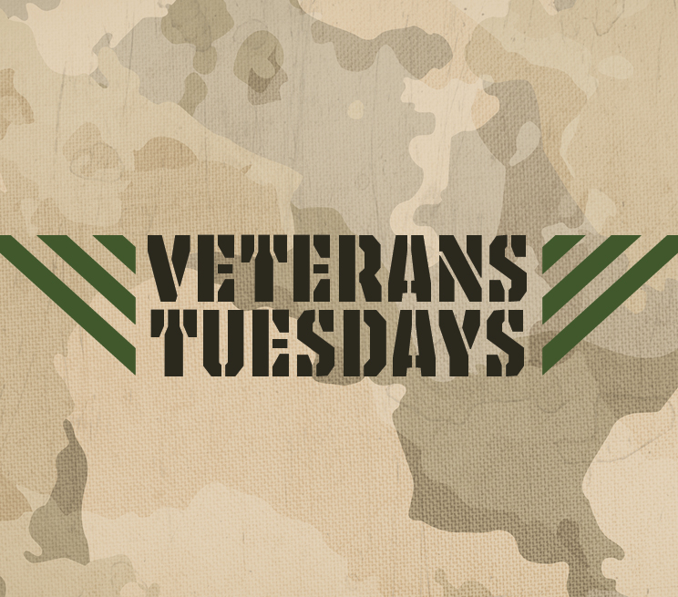 Veteran Tuesdays Promotion