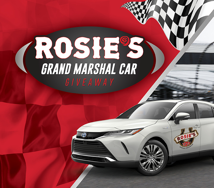 Rosie's Grand Marshal Car Giveaway