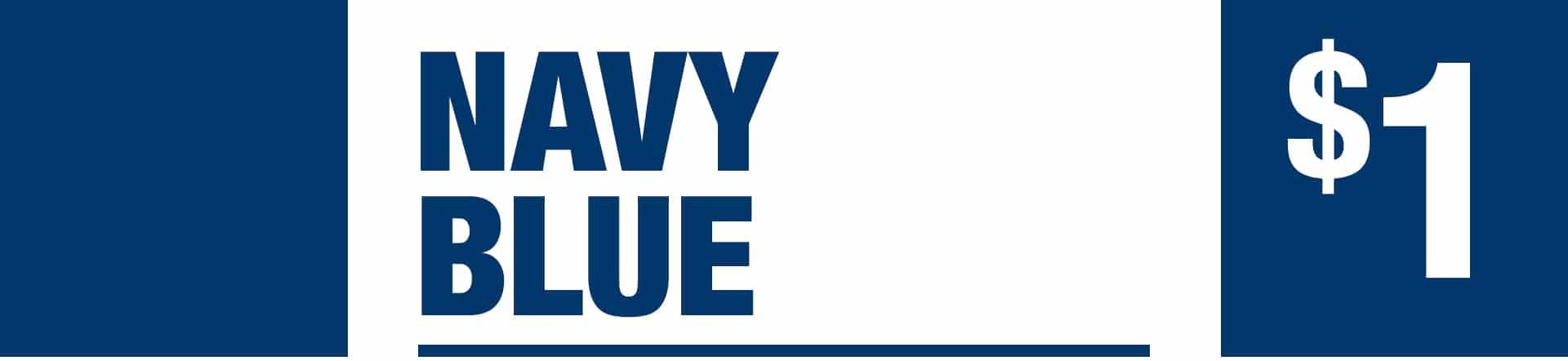 Navy Blue - One Dollar Jackpot