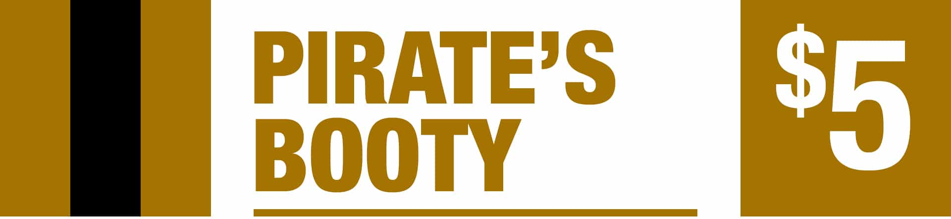 Pirate's Boot - Five Dollar Jackpot