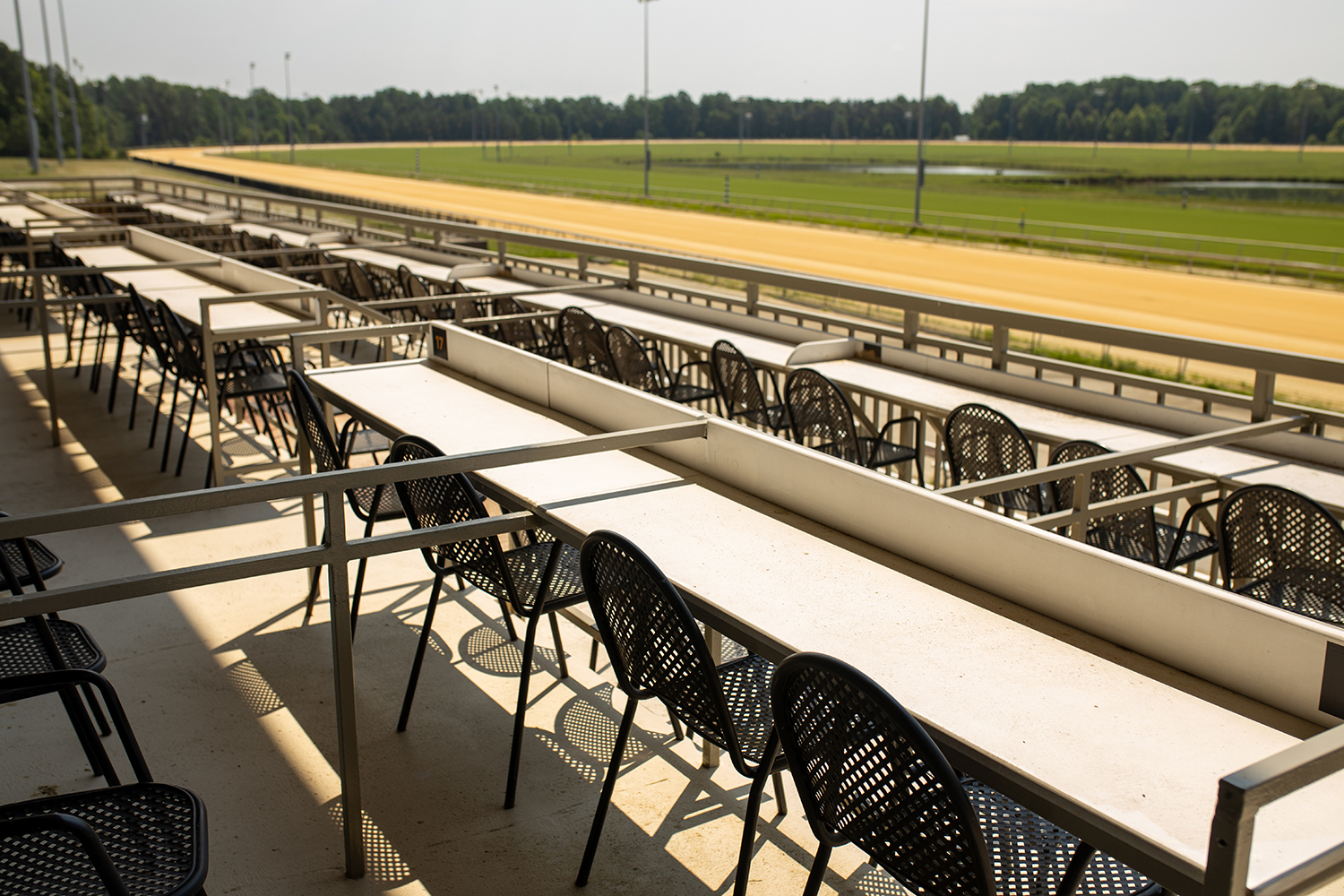 Grandstand Boxes at Colonial Downs in New Kent
