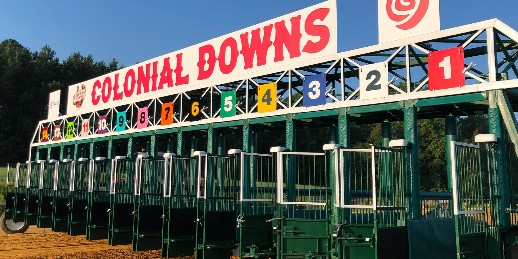 Colonial Downs Start Gate