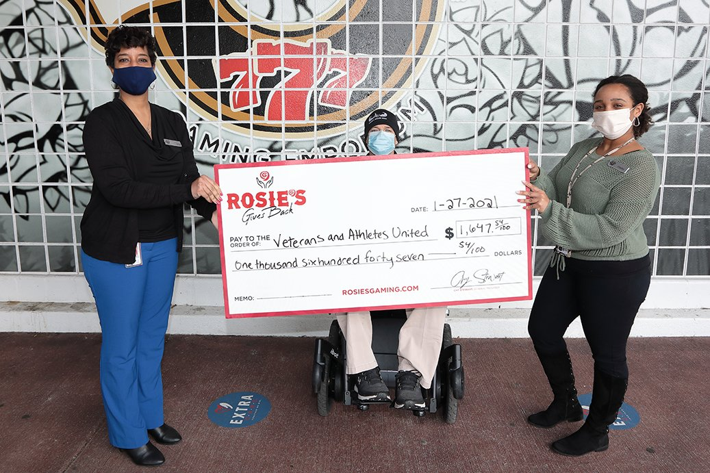 Veterans and Athletes United Donation