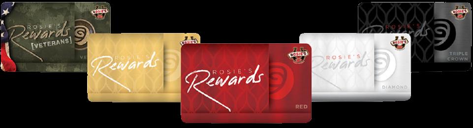 Rosie's Rewards Cards