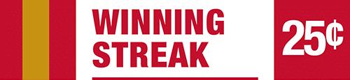 Winning Streak - Quarter Jackpot