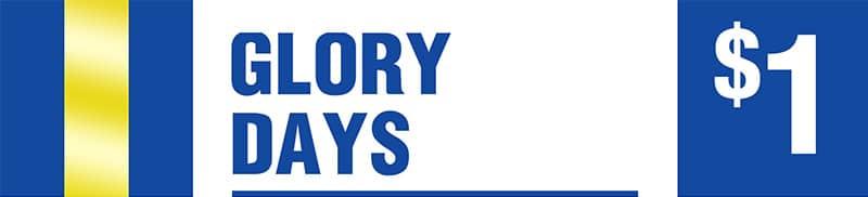 Glory Days - Dollar Jackpots