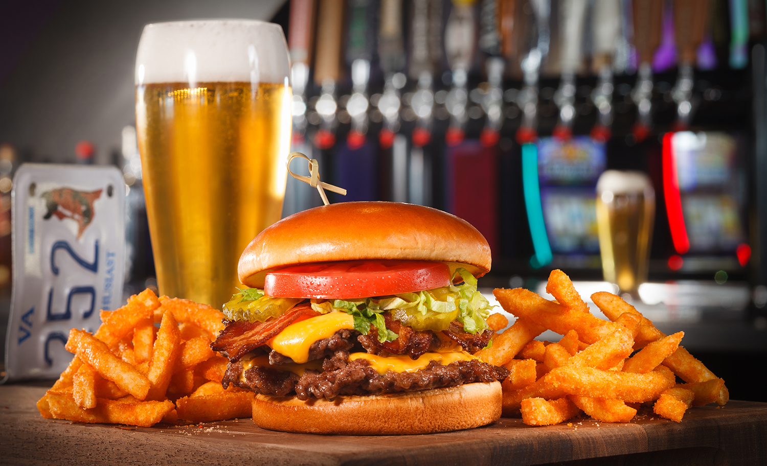 R' Burger, Beer and Fries
