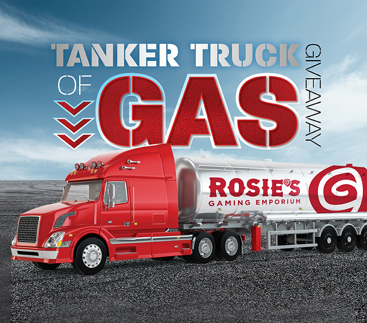 Tanker Truck of Gas Giveaway