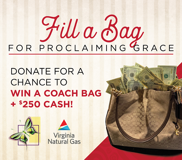 """""""Fill a Bag"""" for Proclaiming Grace"""
