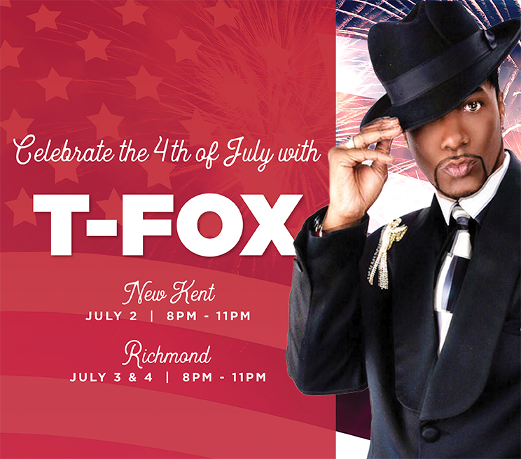 Celebrate the 4th of July with T-Fox